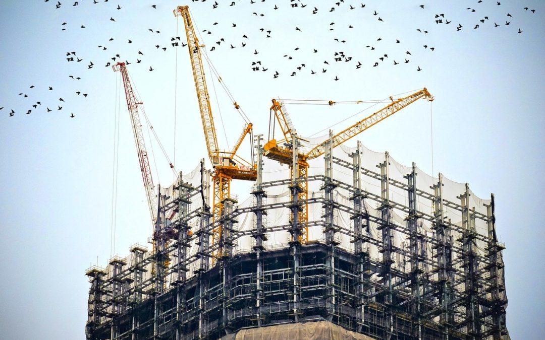 Opmåling af grund til byggeprojekt